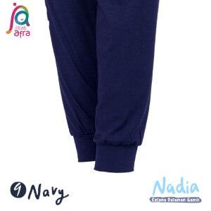 Jilbab Afra Celana Dalaman Gamis JAFR - Nadia 09 Navy