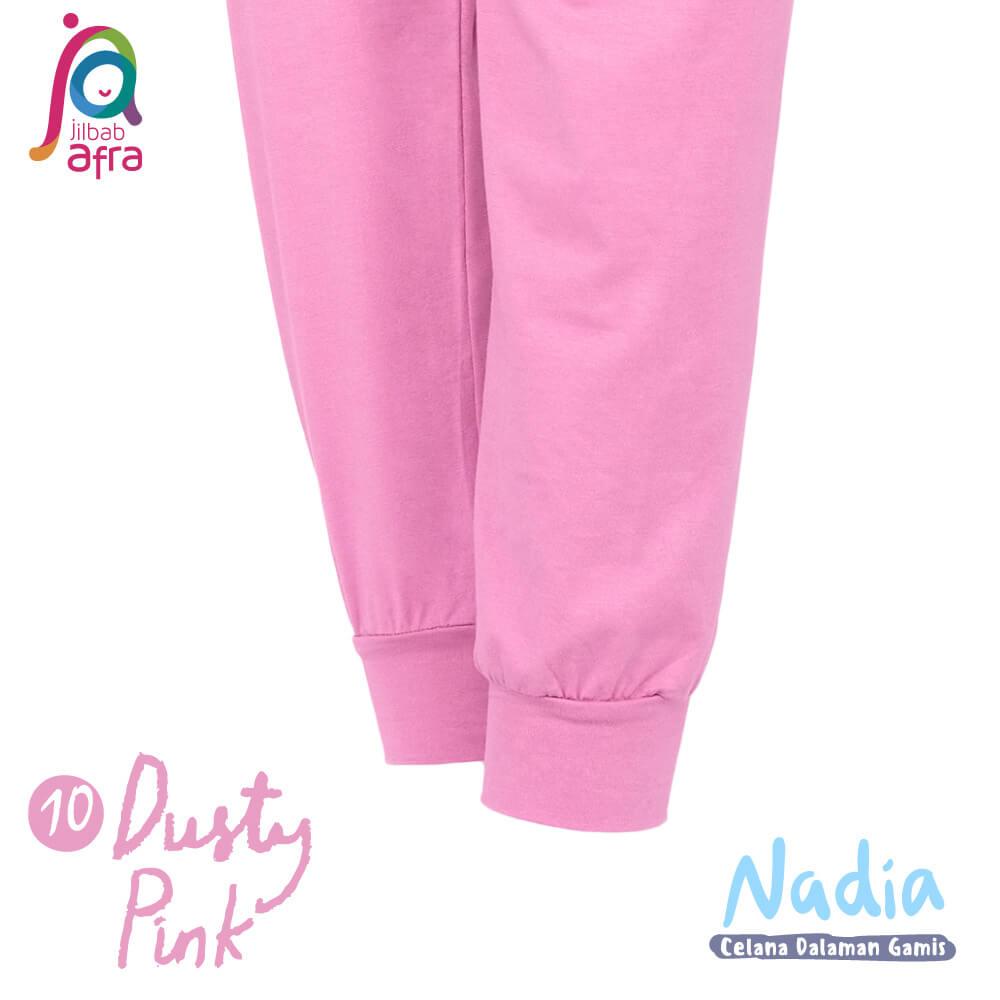 Jilbab Afra Celana Dalaman Gamis JAFR - Nadia 10 Dusty Pink