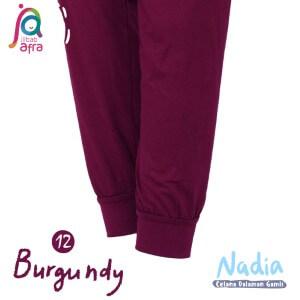 Jilbab Afra Celana Dalaman Gamis JAFR - Nadia 12 Burgundy