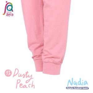 Jilbab Afra Celana Dalaman Gamis JAFR - Nadia 13 Dusty Peach