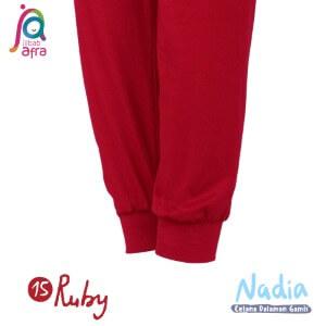 Jilbab Afra Celana Dalaman Gamis JAFR - Nadia 15 Ruby