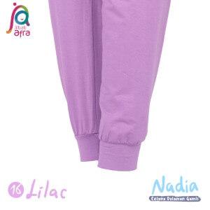 Jilbab Afra Celana Dalaman Gamis JAFR - Nadia 16 Lilac