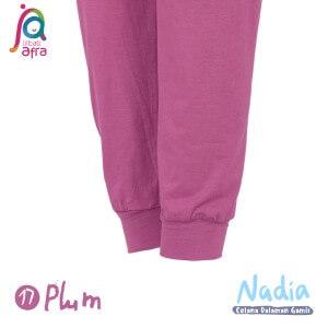 Jilbab Afra Celana Dalaman Gamis JAFR - Nadia 17 Plum