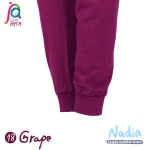 Jilbab Afra Celana Dalaman Gamis JAFR - Nadia 18 Grape