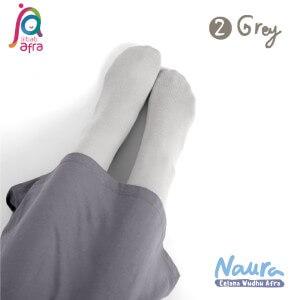 Jilbab Afra Celana Wudhu JAFR - Naura 02 Grey