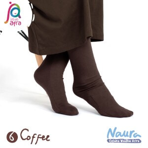 Jilbab Afra Celana Wudhu JAFR - Naura 06 Coffee