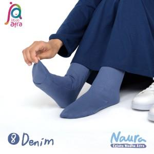 Jilbab Afra Celana Wudhu JAFR - Naura 08 Denim