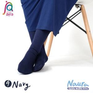 Jilbab Afra Celana Wudhu JAFR - Naura 09 Navy