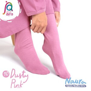 Jilbab Afra Celana Wudhu JAFR - Naura 10 Dusty Pink