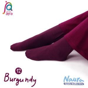 Jilbab Afra Celana Wudhu JAFR - Naura 12 Burgundy