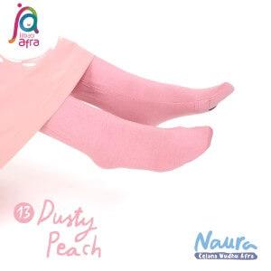 Jilbab Afra Celana Wudhu JAFR - Naura 13 Dusty Peach