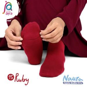 Jilbab Afra Celana Wudhu JAFR - Naura 15 Ruby