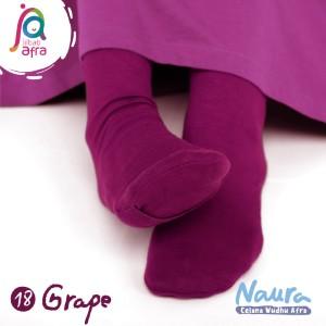 Jilbab Afra Celana Wudhu JAFR - Naura 18 Grape