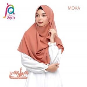 Jilbab Afra Pashmina JAFR - Pasha 05 Moka