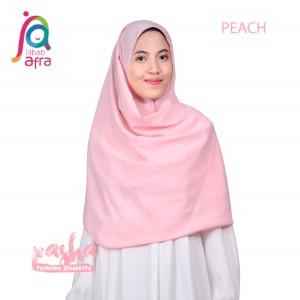 Jilbab Afra Pashmina JAFR - Pasha 07 Peach