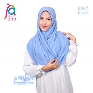 Jilbab Afra Pashmina JAFR - Pasha 12 Baby Blue