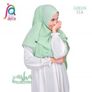 Jilbab Afra Pashmina JAFR - Pasha 14 Greentea