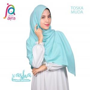 Jilbab Afra Pashmina JAFR - Pasha 15 Toska Muda