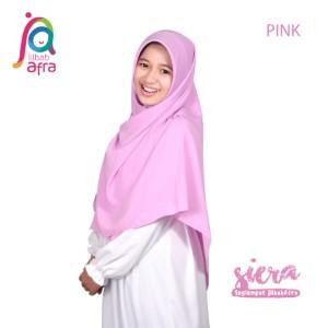 Jilbab Afra Segiempat JAFR - Siera 06 Baby Pink