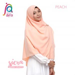 Jilbab Afra Segiempat JAFR - Siera 07 Peach