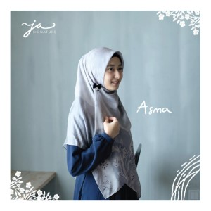Jilbab Afra Premium Printed Voal Scarf Asma