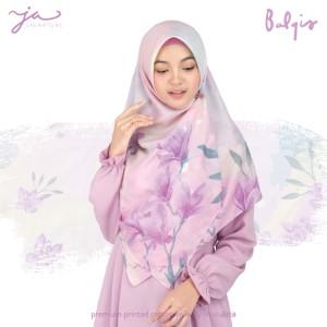 Jilbab Afra Premium Printed Voal Scarf Balqis