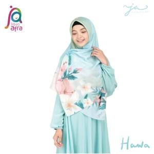 Jilbab Afra Premium Printed Voal Scarf Hawa