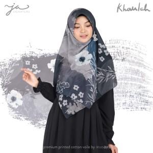 Jilbab Afra Premium Printed Voal Scarf Khaulah