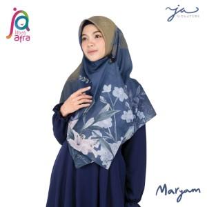 Jilbab Afra Premium Printed Voal Scarf Maryam