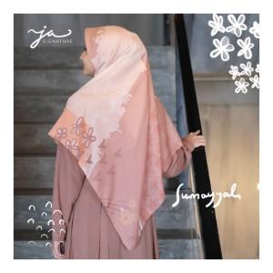 Jilbab Afra Premium Printed Voal Scarf Sumayyah