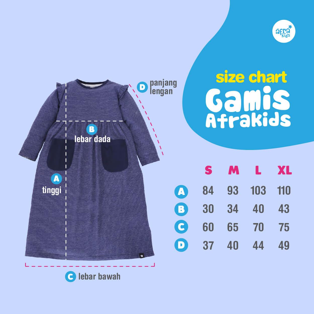 Size GA002