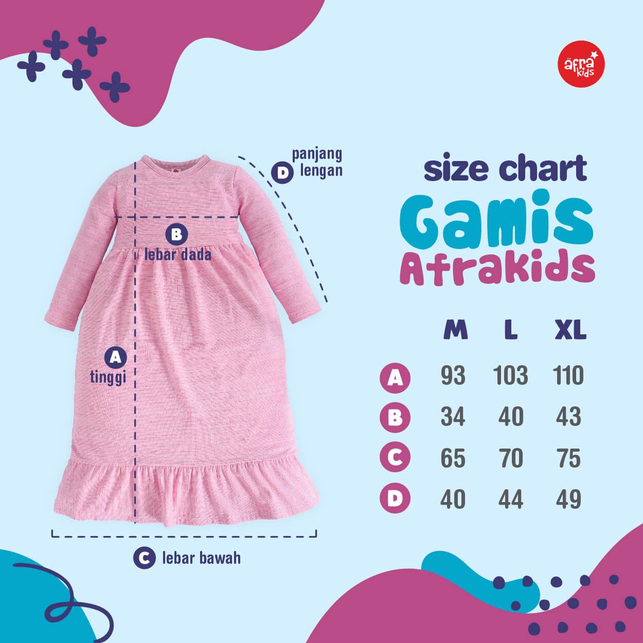 Size GA004