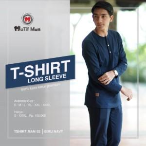 T-Shirt Dewasa Mutif MTIF - T-Shirt 02 A Navy