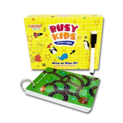 Busy Kids Activity Cards - Mainan Edukasi Anak - PlayLabs