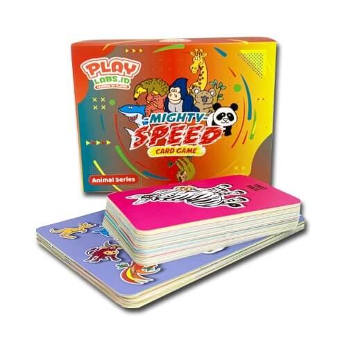Mighty Speed Card Game - Mainan Edukasi Anak - PlayLabs